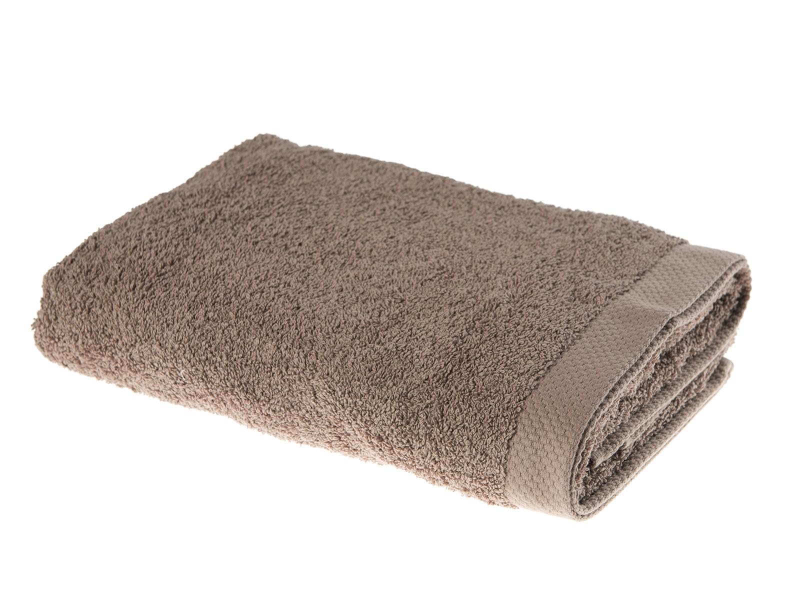 handdoek taupe