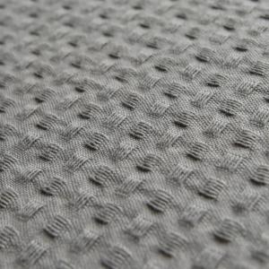 deken katoen grijs