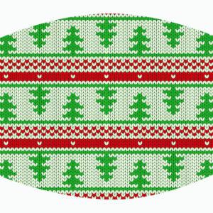 mondmaskers kerstmis