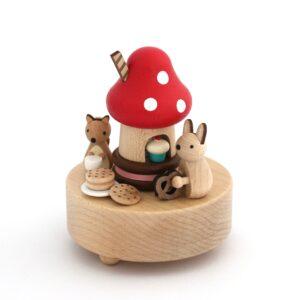 muziekdoosje paddenstoel, Wooderful Life, Personal Shop