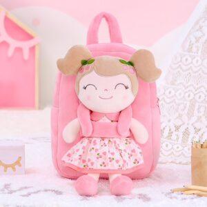 gloveleya rugzak met pop spring girl pink