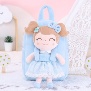 gloveleya rugzak met pop spring girl blue