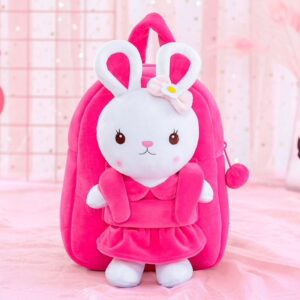 Gloveleya rugzak met knuffel konijn, personal shop