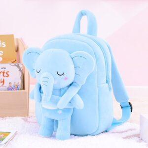 Gloveleya rugzak met knuffel olifant, personal shop