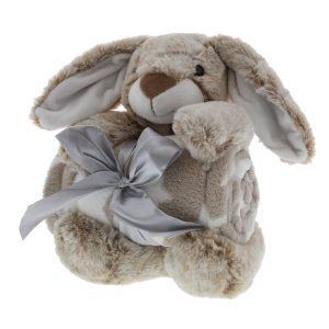 knuffel met deken, konijn, personal shop